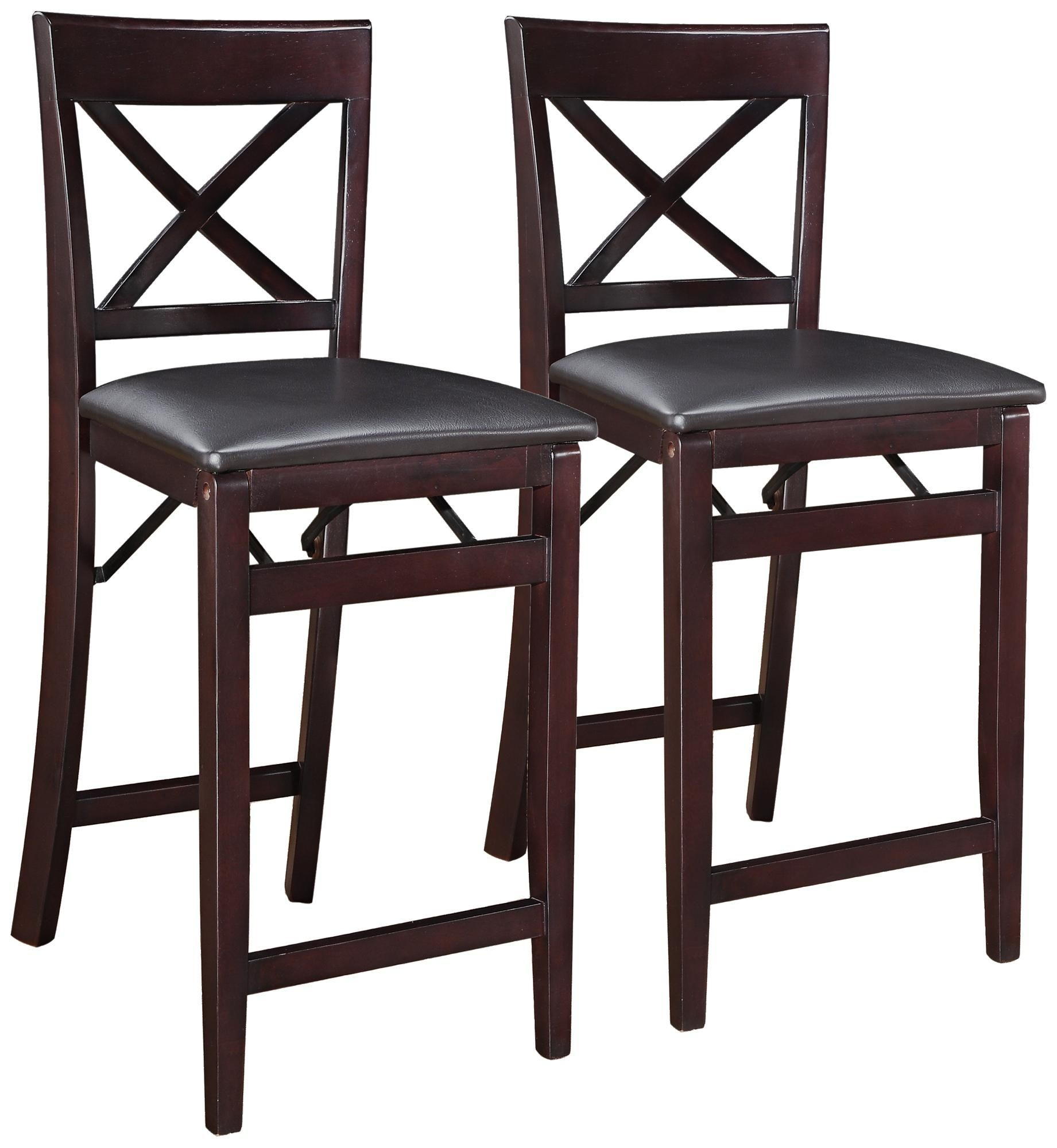Beautiful Folding Counter Stools 2