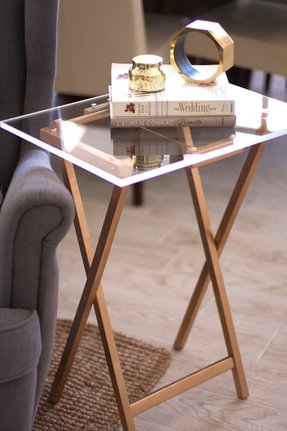 Gold side tables 1