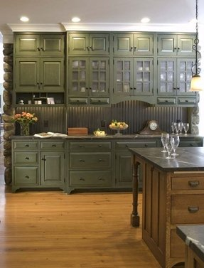 Green cabinets 2