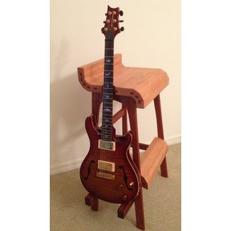 Guitar playing stool