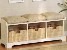 Indoor Storage Benches - Foter