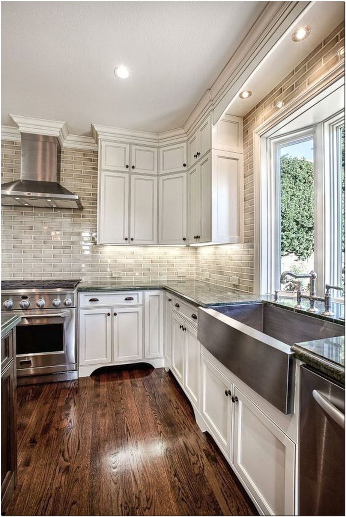 Lovely Ivory Cabinets 9