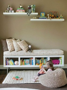 Kids corner bookcase