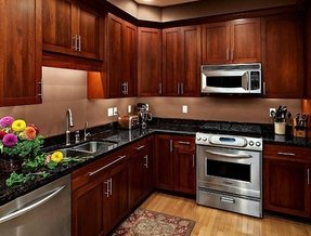 Cherry Cabinets - Ideas on Foter