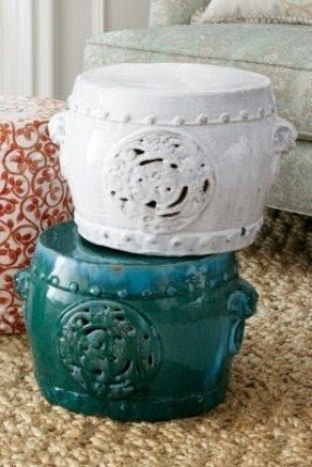 Meiyi Garden Stool Glazed Ceramic Stools Chinese Ceramic Stool Outdoor
