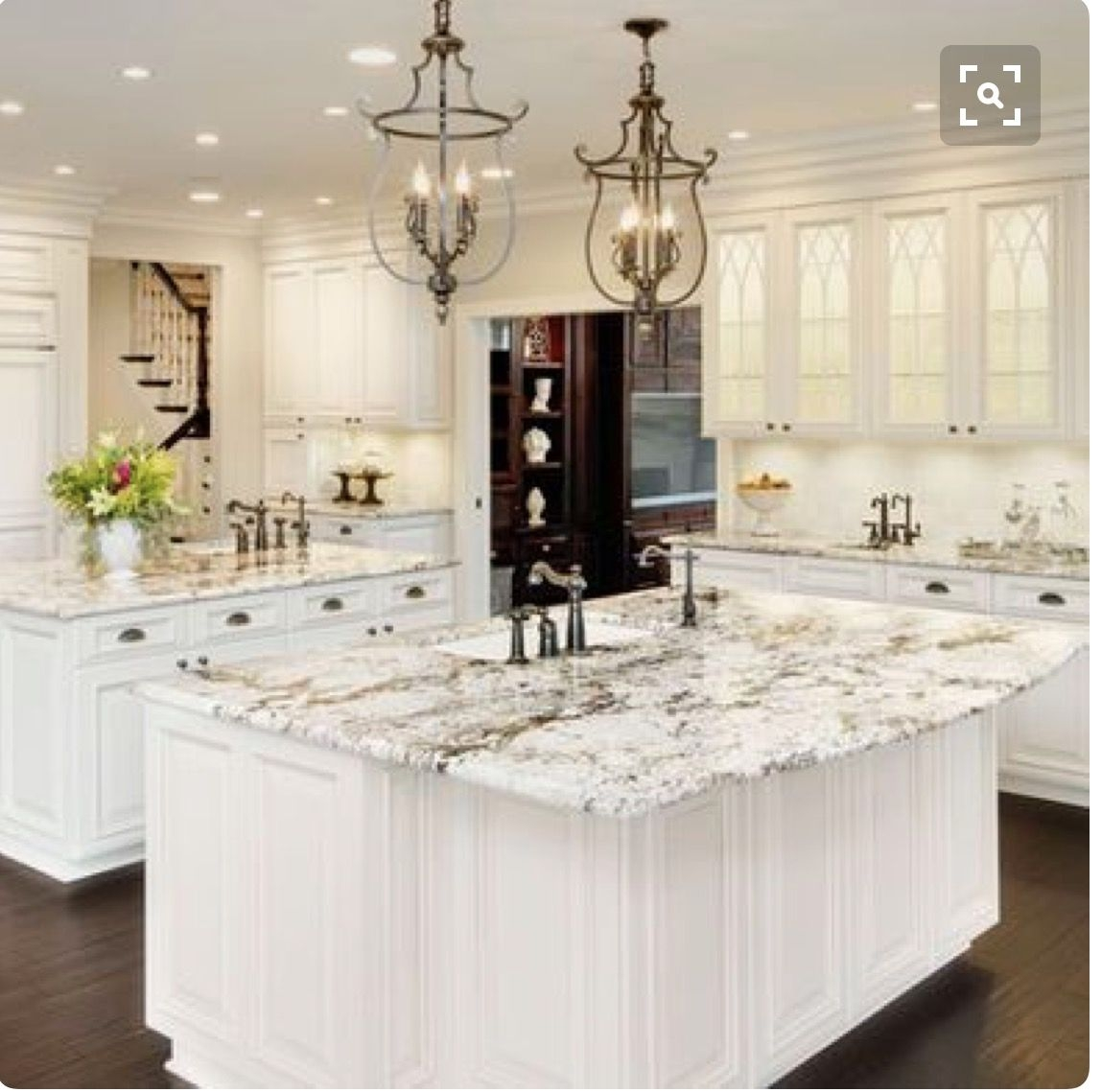 Superieur More Or Less Our Exact Kitchen Remodel Plan Bianco Antico