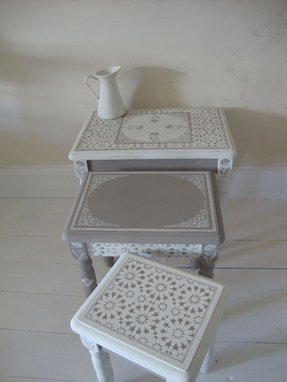 Moroccan nesting tables 1