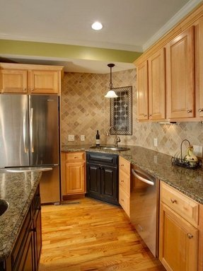 Maple Cabinets - Foter on Countertops That Go With Maple Cabinets  id=65249