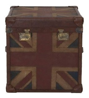Old fashioned luggage trunks