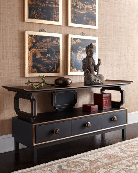 Oriental Chests Cabinets