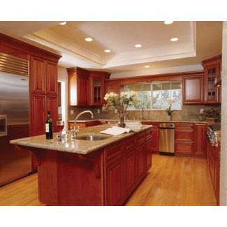 Paint colors for kitchens with cherry cabinets
