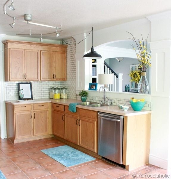 Elegant Paint Colors That Go With Honey Oak Cabinets