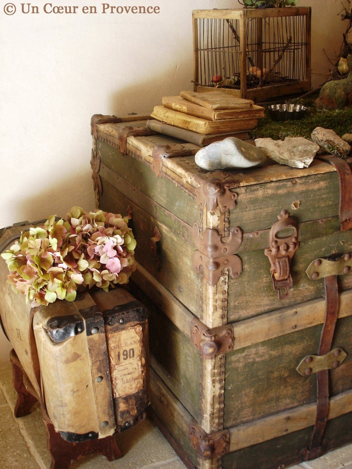 Superior Painted Storage Trunk