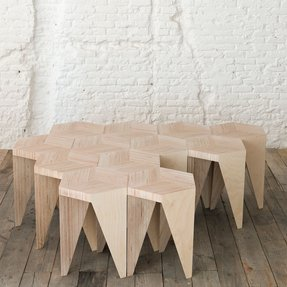 Puzzle Stools Foter