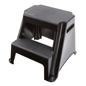 Rubbermaid 2 step molded plastic step stool 2