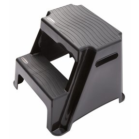 Rubbermaid 2 step molded plastic step stool