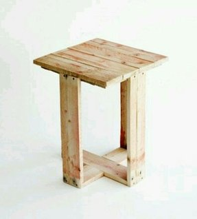Small wood stand