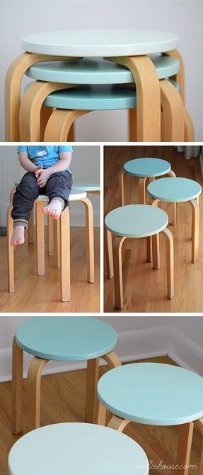 Stacking stools 1