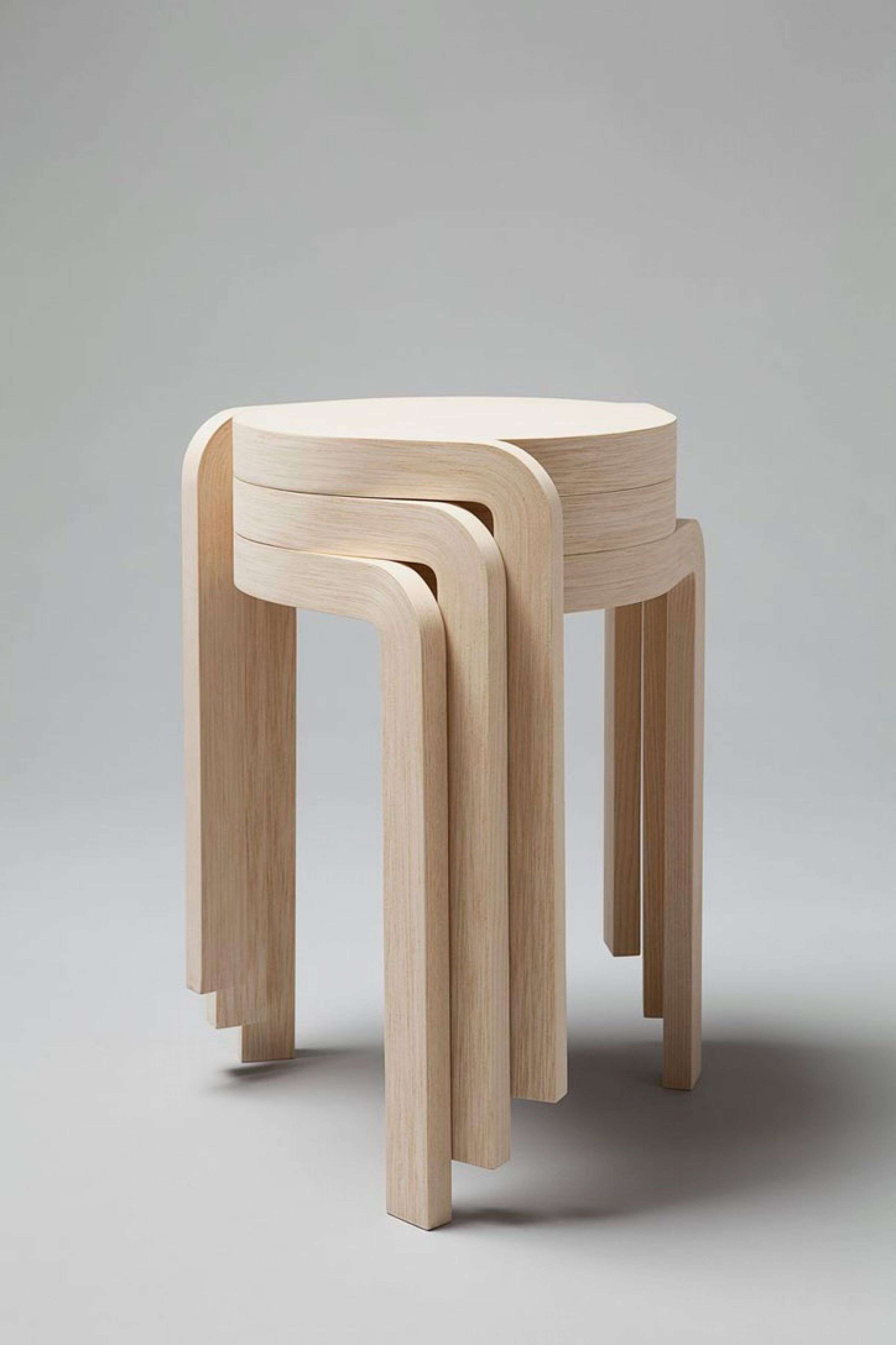 The Attractive And Modern Form Of These Stacking Stools From Wood Is A  Stylish Combination Of Functionality, Interesting Design And A Way To Save  Space.