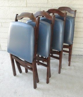 Exceptionnel Stakmore Folding Chairs Mid Century By Thevintagejunktion 159 99