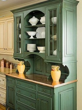 Painted Hutch Ideas Shabby Chic