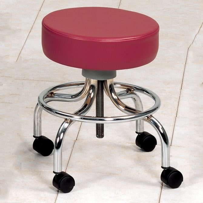 Stool With Wheels 1