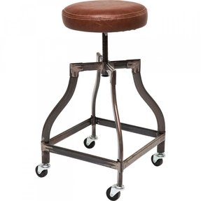 of size pub chair info rolling seat kitchen with wheel bar wheels swivel stools iklanok shop garage stool leather large
