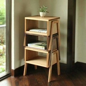 Tabletop shelves