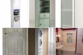 Charmant Tall Narrow Linen Cabinet
