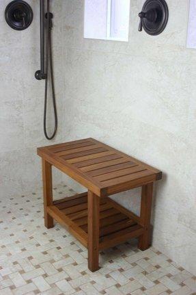 Teak Shower Benches - Foter