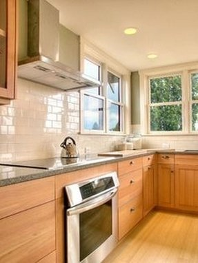Maple Cabinets - Foter on Kitchen Backsplash With Maple Cabinets  id=78768