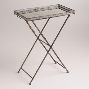 Vintage butler tray table