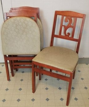 Vintage card table and chairs