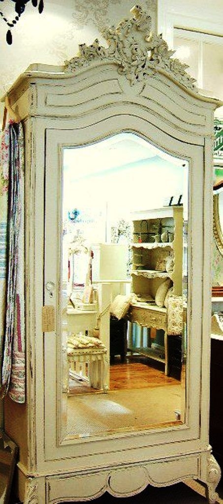 Wardrobe Armoire With Mirror