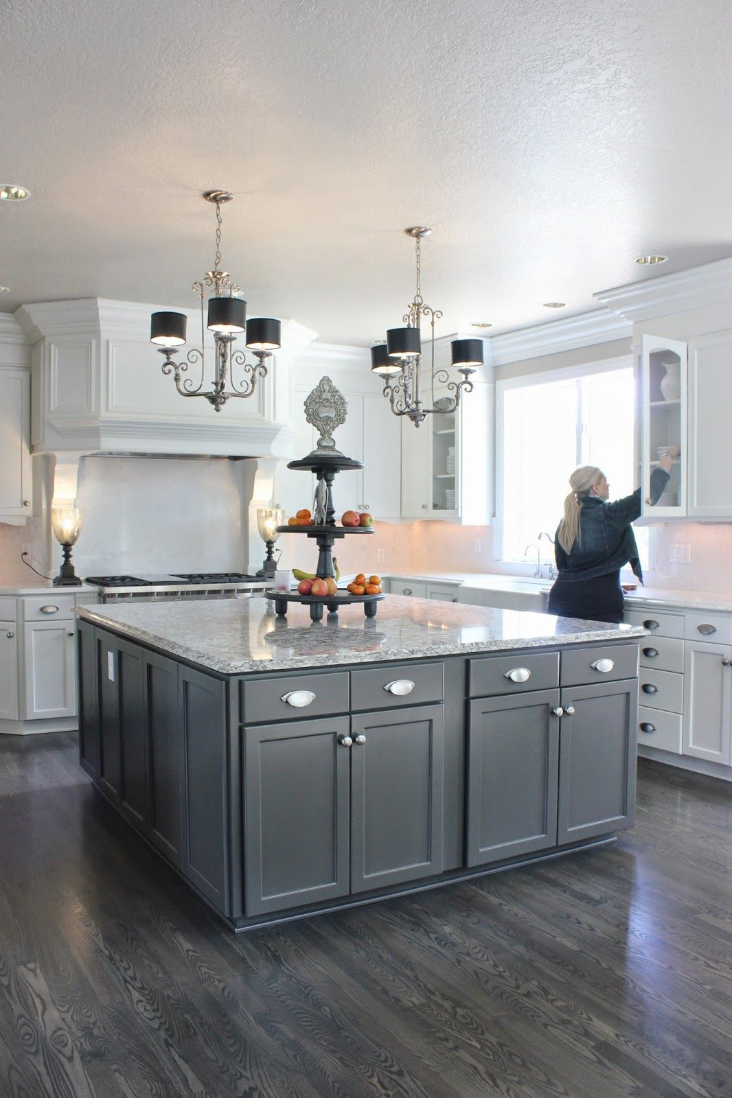 White cabinets oil rubbed bronze hardware & Bronze Cabinets - Foter