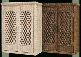 Wicker Linen Cabinet Foter