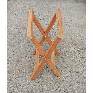 Wooden camp chairs
