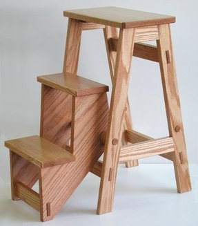 Wooden step stools 1