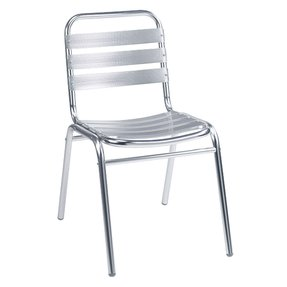 Aluminum stacking chairs 18
