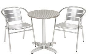 Aluminum stacking chairs 2