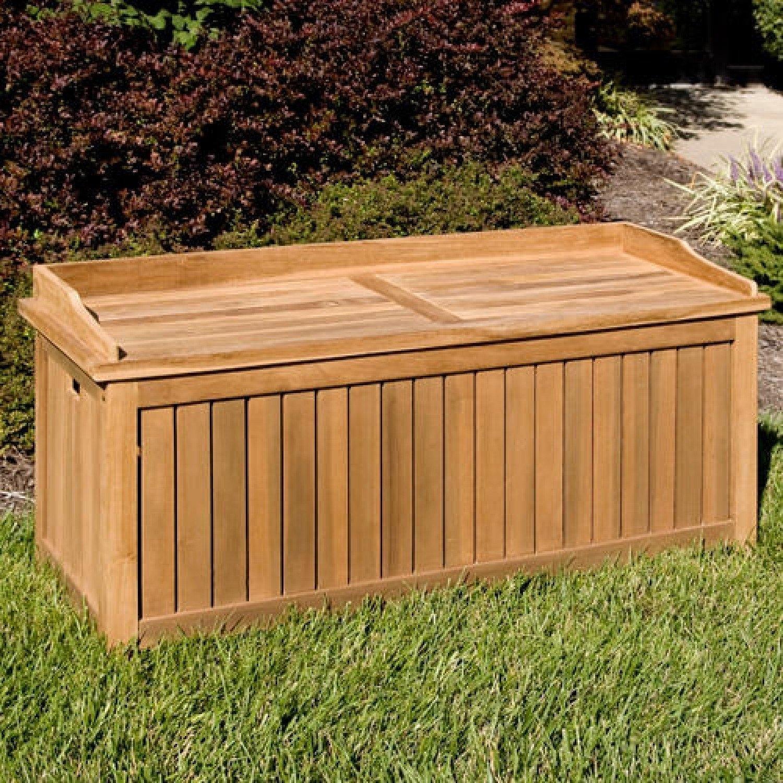Elegant Asian Storage Bench