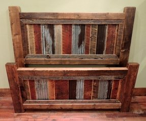 Barnwood beds rustic beds other metro