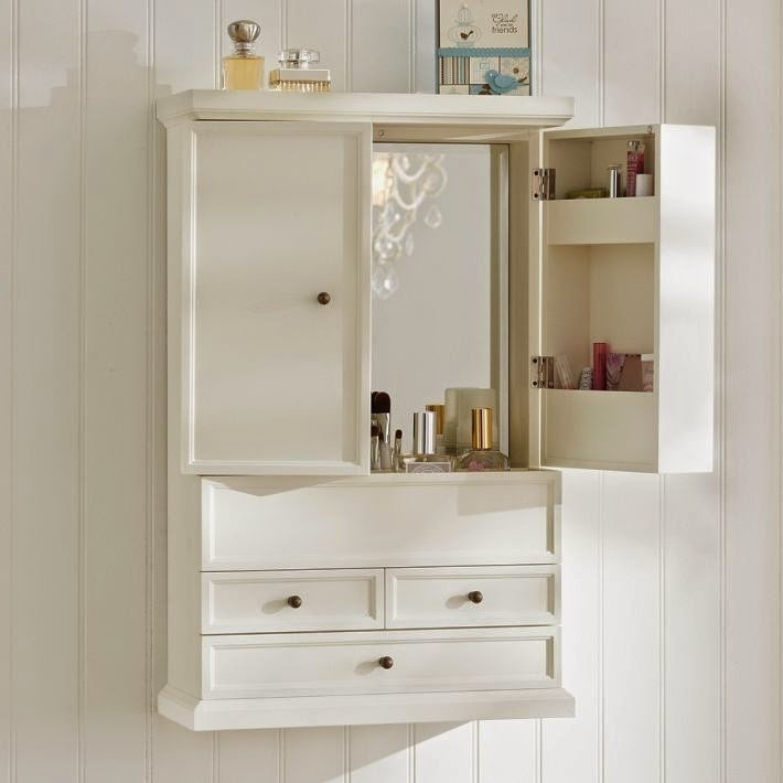 Superieur Cherry Bathroom Wall Cabinet