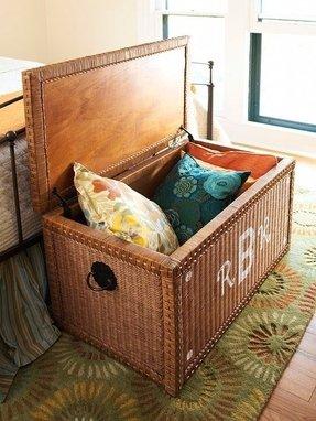 Wicker Storage Benches Foter