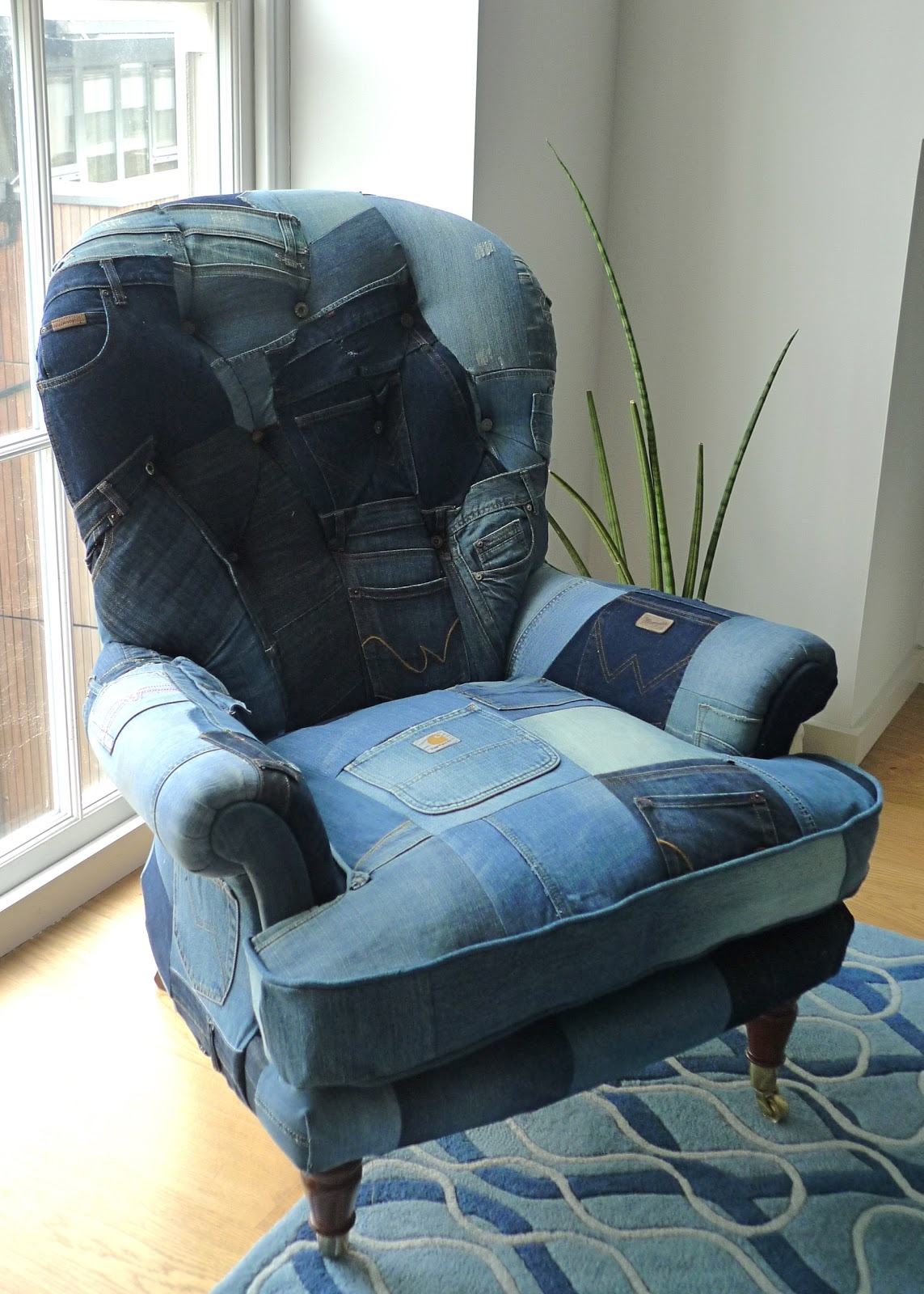 Ordinaire Denim Furniture 14