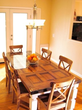 Wondrous Dining Room Table Tops Ideas On Foter Interior Design Ideas Truasarkarijobsexamcom