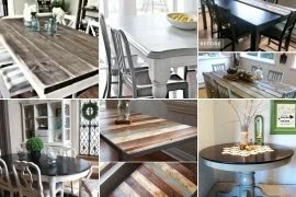 Beautiful Dining Room Table Tops