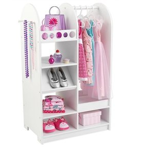 Dress up costume storage