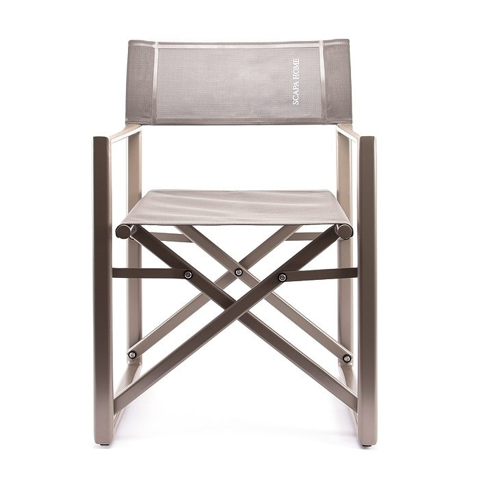 Bon Folding Directors Chair With Side Table