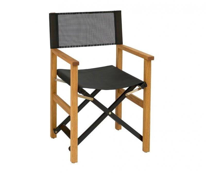 Beau Folding Wooden Directors Chair